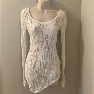 Express size small warm weather sweater